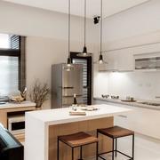 小户型厨房简约灯饰装饰