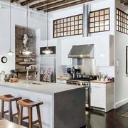 美式简约风格厨房效果图