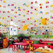 幼儿园创意背景墙设计
