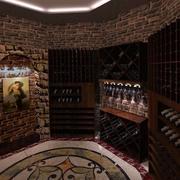 欧式简约酒窖装饰