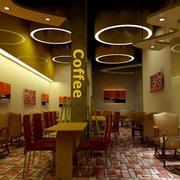 现代简约咖啡馆装饰