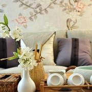 中式家装客厅沙发装饰