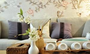 2015唯美古色古香气质两居室中式家装效果图