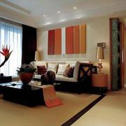 客厅简约风格电视背景墙装饰