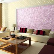 日式客厅简约风格液体壁纸