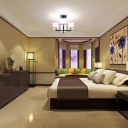 小户型新中式风格卧室装饰