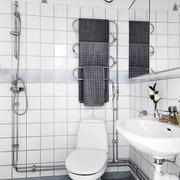 卫生间简约马桶装饰