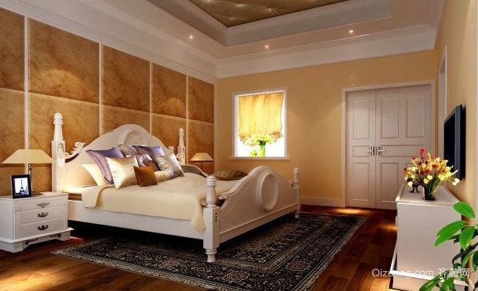 干净整洁的别墅房间装修效果图