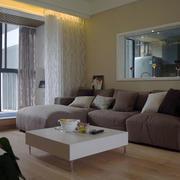 公寓简约风格客厅效果图