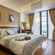 东南亚风格卧室窗帘装饰