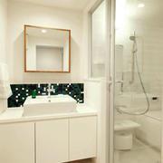 卫生间玻璃隔断装饰
