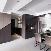公寓后现代风格餐厅装饰