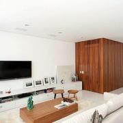 公寓现代简约风格背景墙设计