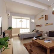 北欧简约公寓卧室置物架装饰