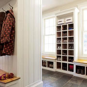 北欧小户型玄关鞋柜装饰
