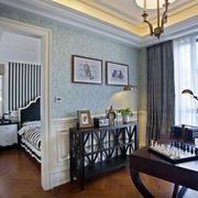 三室一厅简约风格背景墙设计