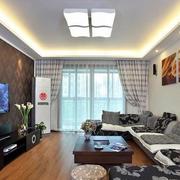 小户型客厅电视背景墙设计