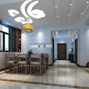 别墅装饰风格餐厅效果图