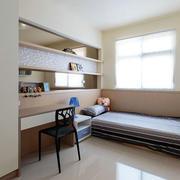 简约书房榻榻米设计