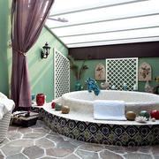 两室一厅大浴缸效果图