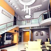 复式楼楼梯扶手设计