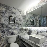 卫生间裂纹式瓷砖设计