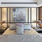 公寓简约卧室床头背景墙设计