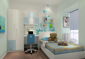 现代简约风格儿童房榻榻米设计