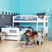 美式简约风格儿童房地板装饰