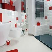 后现代简约风格阁楼卫生间