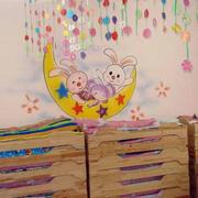 幼儿园教室墙饰设计
