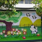 幼儿园走廊墙饰