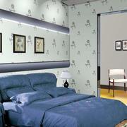 后现代风格卧室液体壁纸
