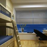儿童房原木床饰设计