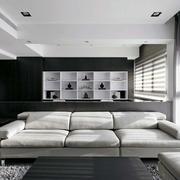 公寓后现代风格客厅沙发装饰