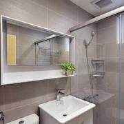两室一厅简约风格卫生间装饰