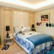 简欧风格卧室墙贴装饰