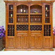 原木经典酒柜设计