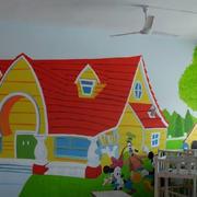 幼儿园欧式墙饰装饰