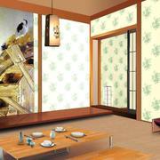 日式卧室液体壁纸