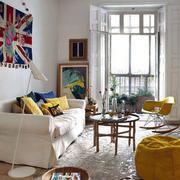 美式混搭风格客厅装饰