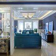 三室一厅客厅沙发装饰
