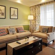 100平米房屋客厅沙发设计