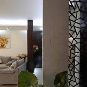 简约风格客厅墙饰设计