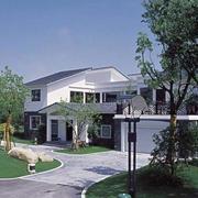 美式小型别墅外观图