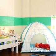 美式简约风格男生儿童房设计