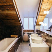 美式别墅卫生间装饰