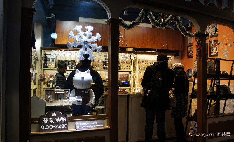 专卖好喝奶茶的奶茶店装修效果图