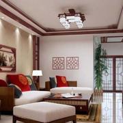 小户型中式风格客厅效果图