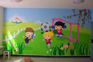 激发奇思妙想的幼儿园壁画图片